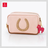 HORSESHOE CASE〈Pink × Brown〉