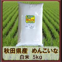平成30年 秋田県産 めんこいな 白米 5kg