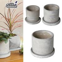 ■ダルトン■■2021SS 新作■ Cement pot Round  Mサイズ ミニサボテン 多肉植物