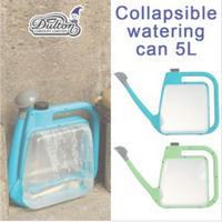 アガベ パキポディウム コーデックスの水やりに Collapsible watering can 5L