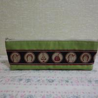 布のペンシルポーチ 型番PC18 送料サービス