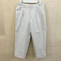 YAECA / 68651 / チノ タックストレート (BEIGE)
