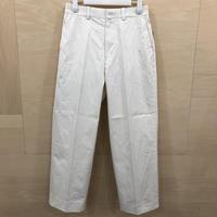YAECA / 61602 / チノ グリーズド (WHITE)
