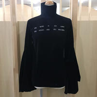 FACETASM / ベロアハイネックTシャツ / CHG TEE W09