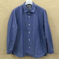 YAECA / 60109 / コンフォートシャツ ワイド (BLUE ST)