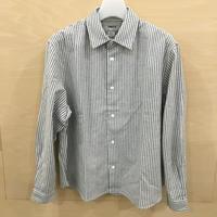 YAECA / 69153 / コンフォートシャツ リラックスショート (BLUE ST)