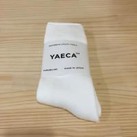YAECA / 18956 パイルソックス  (WHITE)