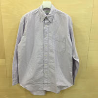 Graphpaper / GM191 50026B / Oxford L/S B.D Box Shirt (LAVENDER)