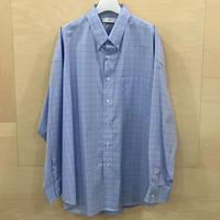 Graphpaper / GM201 50028 / Thomas Mason Oversized B.D Shirt (BLUE CH)