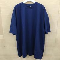 ATON / SUVIN 60/2 OVERSIZED T SHIRT (BLUE)