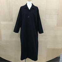YAECA / 09951 / パジャマシャツ ロング (NAVY)