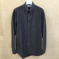 Graphpaper / GM191 50009B / Oxford L/S B.D Box Shirt (GRAY)