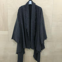 YAECA / 50955 / ポンチョ WOOL CASHMERE (C.GRAY)