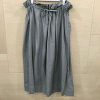 Graphpaper / GL201 40023 / Viscose Squared Skirt (GRAY)