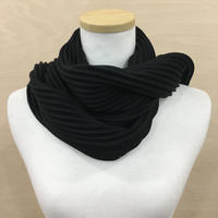 DESIGN HOUSE / PLEECE SHORT SCARF (BLACK)