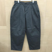 Graphpaper / GM201 40061B / Military Cloth Tow Tuck Pants (GRAY)