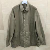 Fresh Service / FSW 20 SH 01 / Cargo Pocket Reguler Collar Utility Shirt (BEIGE)