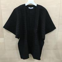 HENRIK VIBSKOV / SS20 M212 / Kaii Shirt (BLACK  SEERSUCKER)