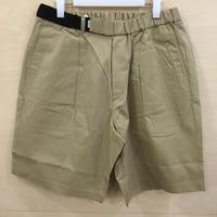 Graphpaper / GM191 40016 / STEVENSONS Wide Cook Shorts (BEIGE)