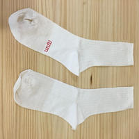 unfil / ONSP UW155 / Linen Thin Socks (OFF WHITE)