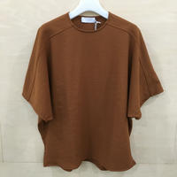 Graphpaper / GL201 70118B / Rib Round Neck Tee (BROWN)