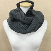 DESIGN HOUSE / PLEECE LONG SCARF (DARK GRAY)