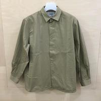 YAECA / 69105 / コンフォートシャツ リラックススクエア L (KHAKI)