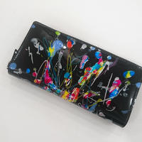 macromauro / paint black wallet jumbo