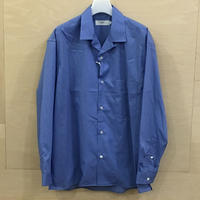 Graphpaper / GU192 50524C / Broad Open Collar Shirt (BLUE) casa gucca 別注