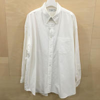 Graphpaper / GM201 50110B / Oxford Oversized B.D Shirt (WHITE)