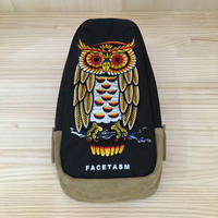 FACETASM / PIPPIA BAG U02 / OWL BODY BAG (BLACK)