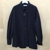 Graphpaper / GM201 50110B / Oxford Oversized B.D Shirt (NAVY)