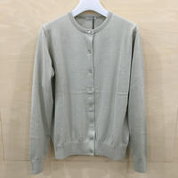 LENO & CO / L2001 KO01 / COTTON SILK CARDIGAN (ECRU)