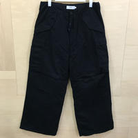 Graphpaper / GU193 40125B / Military Cloth Military Pants (NAVY)