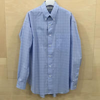 Graphpaper / GM201 50058 / Thomas Mason L/S B.D Box Shirt (BLUE CH)