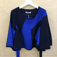 HENRIK VIBSKOV / AW F216 / Fiold Blouse (BLUE CUTS)