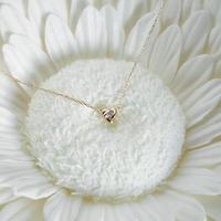 K10/【SANYO MUSUBI / 三葉結び】Diamond necklaceダイヤネックレス (YG/PG/WG 3色展開) N10017