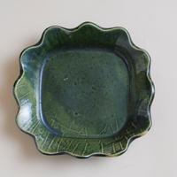 花形6寸皿
