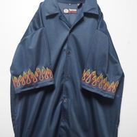 FIRE刺繍シャツ