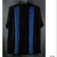 OVERSIZEラインシャツ(BLUE)