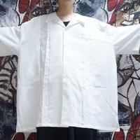超OVERSIZEオープンカラーシャツ (white)