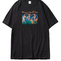 oversize Matisse print tee