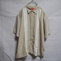 OVERSIZEラインシャツ(beige)