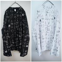 漢字チャイナシャツ