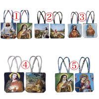 宗教画織トートバッグ