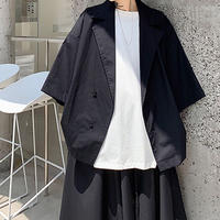 Oversize Designed Buttons Jacket