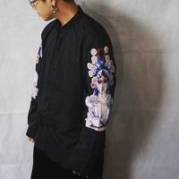 print sleeve shirt