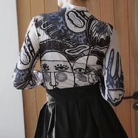 PICASSO  PRINT TOPS