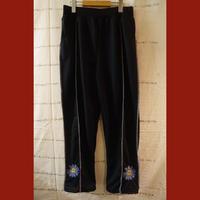 瑠璃雛菊(ブルーデイジー)刺繍パンツ