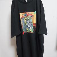 oversize picasso print tee(泣く女)